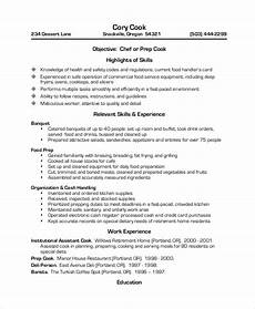Restaurant Resume Sample Restaurant Resume 12 Examples In Pdf Word