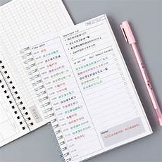 planners 2020 weekly kawaii agenda 2019 2020 notebook daily weekly monthly