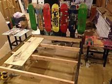 Skateboard Headboard Buy A Custom Upcycled Skateboard Headboard And Bed