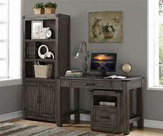 storehouse gray home office set from legends furniture