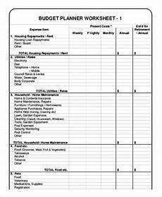 Budget Plan Worksheet 12 Monthly Budget Planner Templates Ai Psd Google
