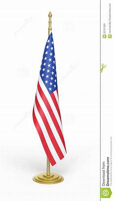 American Flag Office American Office Flag Stock Illustration Illustration Of