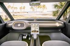 volkswagen buzz 2020 we checked out the inside of the new vw and it s
