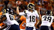 Depth Chart La Rams Rams Sticking To Qb Depth Chart Jared Goff Backing Up