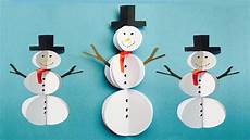 crafts snowman diy paper snowman craft easy snowman ideas