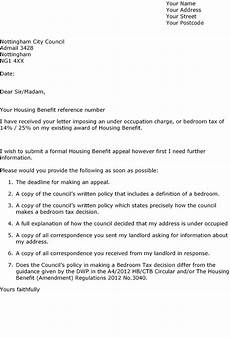 Letters Template Defend Council Tax Benefits July 2013