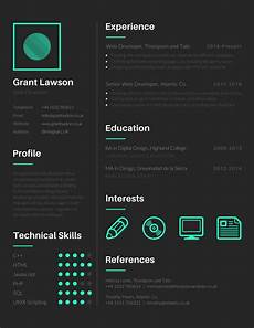 Visual Cv Template 15 Free Tools To Create Outstanding Visual Resume