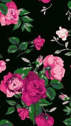 black floral wallpaper for iphone wallpaper iphone in 2019 pink wallpaper iphone floral