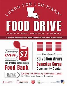 Can Food Drive Flyer Louisiana Food Drive Flyer Hagerty Consulting