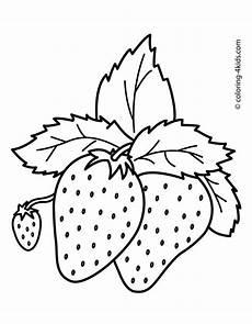 Malvorlagen Kostenlos Ausdrucken Anleitung Sch 246 Ne Erdbeeren Fr 252 Chte Malvorlagen Einfach F 252 R Kinder