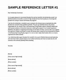 Letter Of Recommendation Without Addressee Free 19 Sample Reference Letter Templates In Ms Word Pdf