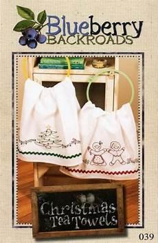 Christmas Tea Towel Embroidery Designs Christmas Tea Towels Christmas Tea Tea Towels