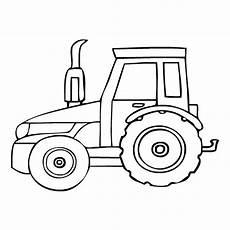 Malvorlagen Traktor Simple Tractor Drawing At Getdrawings Free