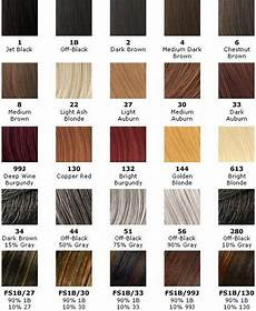 Hair Number Chart Hair Weave Number Color Chart Hair Color Chart