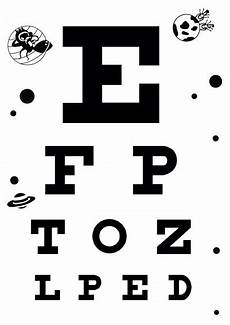 Printable Snellen Eye Chart For Kids Download Free Eye Charts A4 Letter Size 6 Meter 3