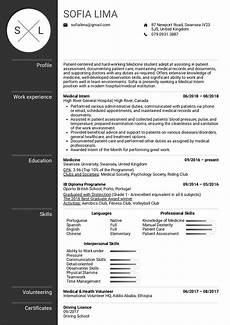 Sample Medical Resume Medical Intern Resume Sample Kickresume