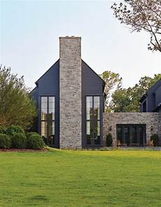 House Of Stone And Light Exterior Chimney Ideas Exterior Transitional With