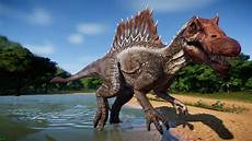 spinosaurus at jurassic world evolution nexus mods