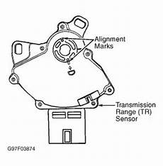 2000 Ford Contour Range Sensor How Do I Change The Range