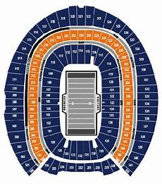 Broncos Seating Chart View Denver Broncos Seating Chart Sports Authority Field At