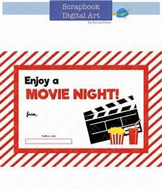 Gift Card Download Printable Redbox Gift Card Tag Printable Card Movie Night