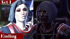 Light Sith Swtor Sith Inquisitor Light Side Story Act 1 The