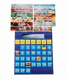 Scholastic Calendar Pocket Chart Look At This Zulilyfind Monthly Calendar Pocket Chart