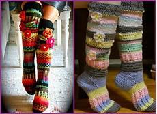 crochet socks can anyone crochet knee high socks crochetrequests