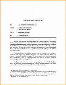 Samples Of Memorandum Law Memorandum Format World Of Reference