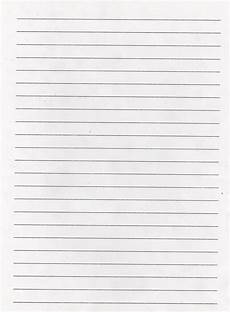 Printable Paper Elementary School Enrichment Activities Lined Paper
