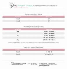Breast Pump Size Chart Maternity Compression Size Chart Your Breast Pump