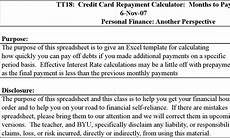 Credit Card Repayment Spreadsheet 9 Debt Payoff Calculators Free Download