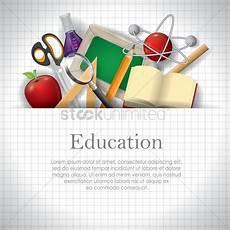 education wallpaper vector image 1821875 stockunlimited
