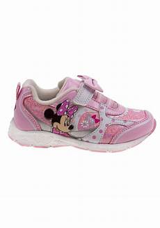 Minnie Mouse Shoes With Lights Minnie Mouse Bow Girls Light Up Sneakers