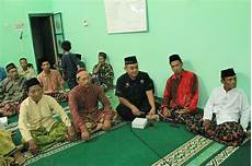pengajian halal bihalal warga dusun blabak triwidadi