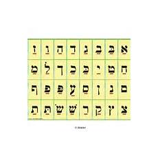 Alef Beis Chart Alef Beis Chart Walder Education