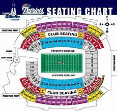 Gillette Stadium Soccer Seating Chart Gillette Stadium Seating Numbers Patriots