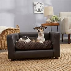 keet fluffly deluxe bed sofa chocolate small chewy