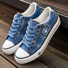 fashion sneakers denim casual shoes summer
