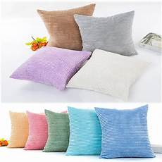 Sofa Pillows Solid 3d Image by Aliexpress Buy Ouneed Plush Solid Color Throw Pillow