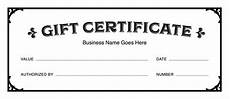 Sample Gift Certificate Template Gift Certificate Templates Download Free Gift