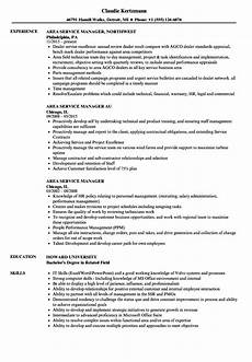 Area Manager Resumes Area Service Manager Resume Samples Velvet Jobs