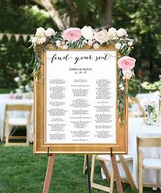 Cricut Wedding Seating Chart Wedding Seating Chart Editable Pdf Table Arrangement