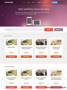 Html Coupon Template 11 Best Coupon Website Template 2017 Frip In