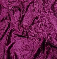 fabrics crushed velvet crushed velvet grape 150 cm