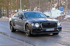 Bentley Flying Spur Light 2020 Bentley Flying Spur Drops Camo Shows Production