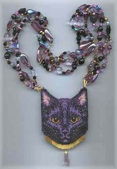 a muse ink beadwork designs mysti cat 2 beaded amulet