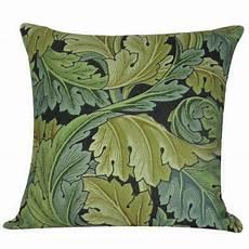 golden hill studio william morris leaves throw pillow