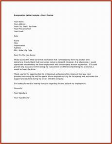 Resignation Letter Cover 6 Resignation Letter Example Email Malawi Research