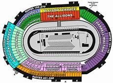 Bristol Motor Speedway Seating Chart With Row Numbers Bristol Motor Speedway And Dragway Seating Chart Ticket